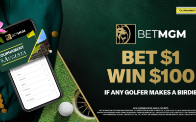Bet The Masters With Huge Deals from BetMGM Sportsbook