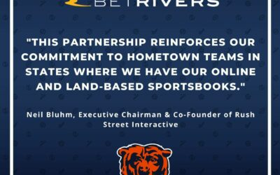 Chicago Bears, BetRivers and Rivers Casino Announce Multi-Year Exclusive Partnership